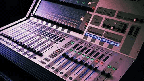 Soundcraft Vi1 on Hire list